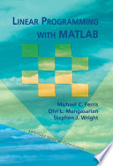 Linear Programming With Matlab Book PDF