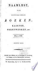 Naamlijst Van Nederduitsche Boeken