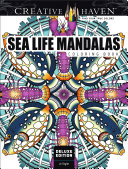 Creative Haven Deluxe Edition Sea Life Mandalas Coloring Book