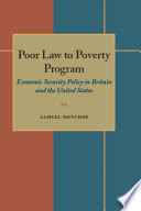 Poor Law to Poverty Program