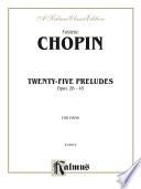 Twenty five Preludes  Op  28 45