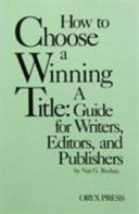 How to Choose a Winning Title Book
