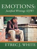 Emotions: Justified Writings (Ejw) Pdf