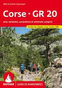 Corse - GR 20 (Korsika GR 20 - französische Ausgabe)