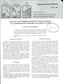 Survival and Height Growth of Norway Spruce in a Southcentral Nebraska Provenance Trial