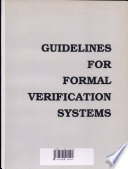 Guidelines for Formal Verification Systems Book