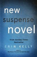 New Suspense Novel