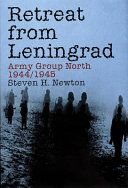 Retreat from Leningrad  Army Group North  1944 1945