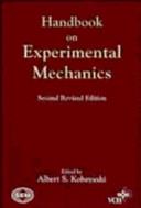 Handbook on Experimental Mechanics
