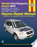 Honda Pilot/Ridgeline & Acura MDX