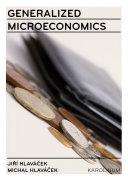 Pdf Generalized Microeconomics Telecharger