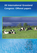 XX International Grassland Conference  Offered papers