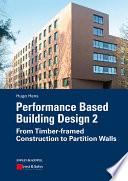 Performance Based Building Design 2 Book