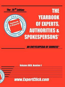 Yearbook Of Experts 2009