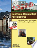 California Residential Foreclosures