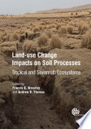 Land Use Change Impacts On Soil Processes Book PDF