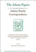 Adams Family Correspondence: March 1787-December 1789