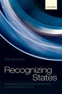 Recognizing States