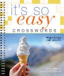 It s So Easy Crosswords Book