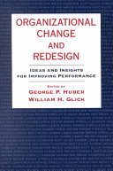 Organizational Change and Redesign