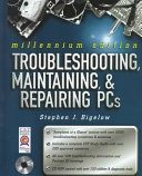 Troubleshooting  Maintaining  and Repairing PCs Book