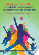 Strategy Instruction for Middle and Secondary Students with Mild Disabilities