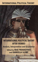 International Political Theory after Hobbes