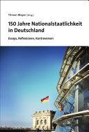 Pdf 150 Jahre Nationalstaatlichkeit in Deutschland Telecharger