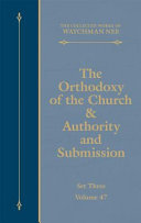 The Collected Works of Watchman Nee