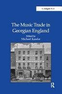 The Music Trade in Georgian England