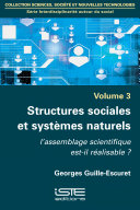 Pdf Structures sociales et systèmes naturels Telecharger