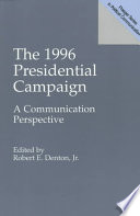 The 1996 Presidential Campaign Book