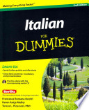 Italian Phrases For Dummies & Italian For Dummies, 2nd Edition with CD Set