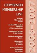 Combined Membership List 2006 2007