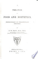 A Treatise On Food And Dietetics