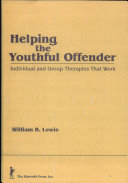 Helping the Youthful Offender