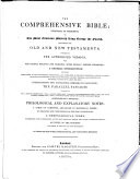 The Comprehensive Bible, Etc. [Edited by William Greenfield.]