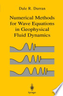 Numerical Methods for Wave Equations in Geophysical Fluid Dynamics