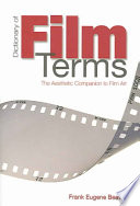 Dictionary of Film Terms Book