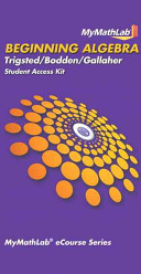 MyMathLab for Beginning Algebra Student Access Kit Passcode