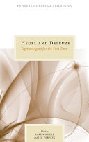 Hegel and Deleuze ebook