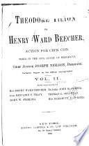 Theodore Tilton Vs Henry Ward Beecher