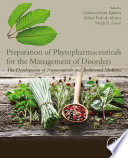 Preparation of Phytopharmaceuticals for the Management of Disorders Book