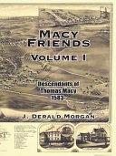 Macy Friends Volume I