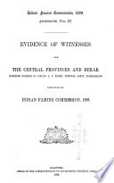 Evidences of Witnesses ...