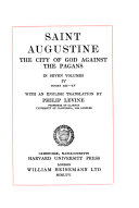 The City of God Against the Pagans  Books 12 15  translated by P  Levine
