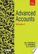 Advanced Accounts Volume   I  19th Edition Book