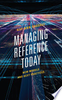 Managing Reference Today Book PDF