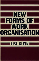 New Forms of Work Organisation