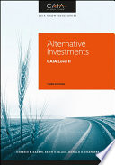 Alternative Investments  : CAIA Level II